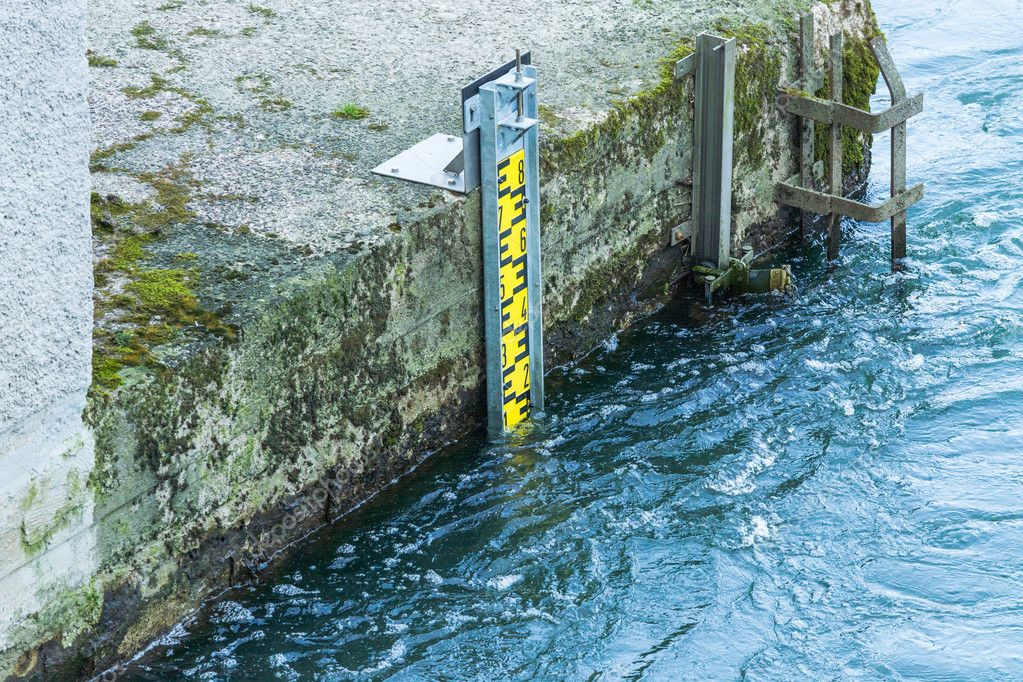 Water level indicator in the Ruhr