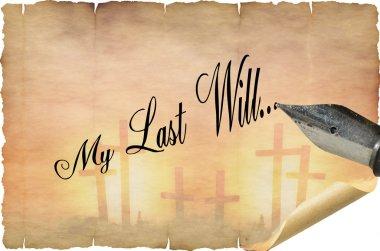 My Last Will Testament