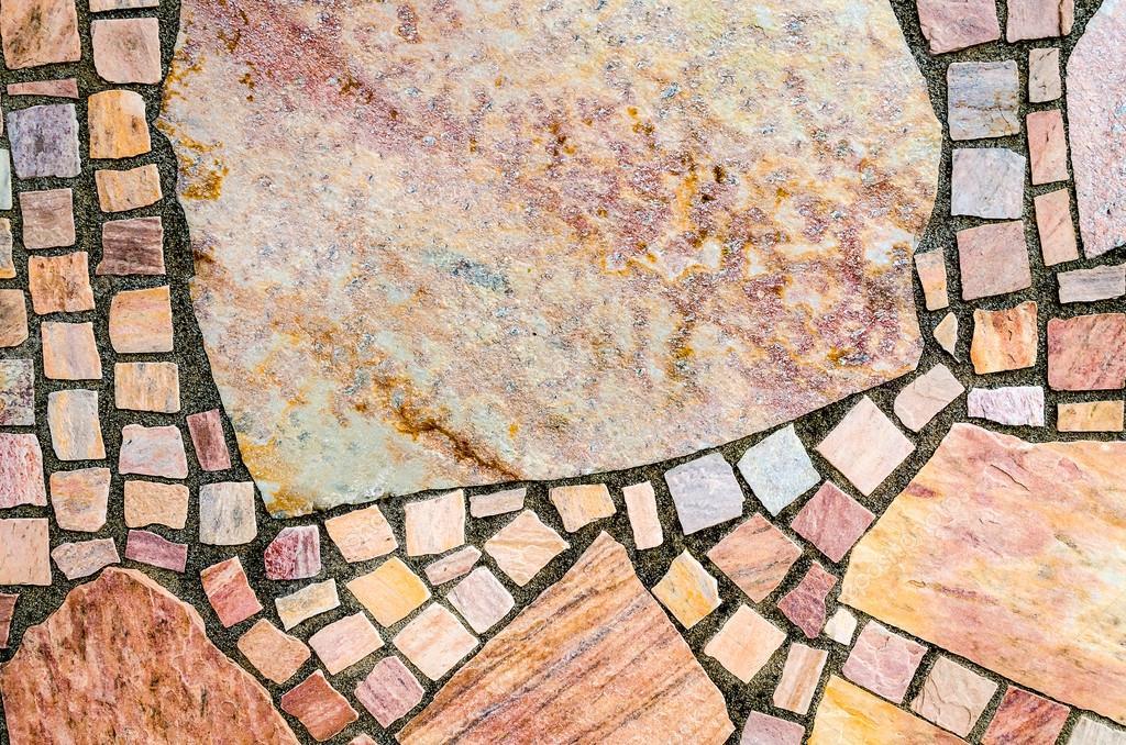 Stone Flooring Natural Tiles Stock Photo