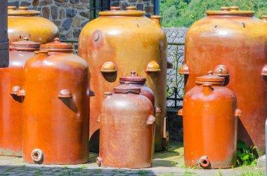 Jars, jugs, pottery
