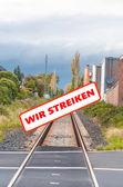 Bahnstreiker