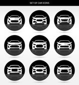 Photo Vector set of car icons