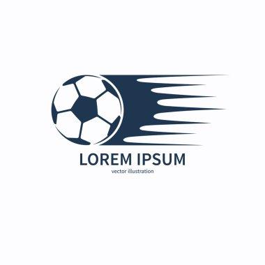 Football or soccer ball symbol