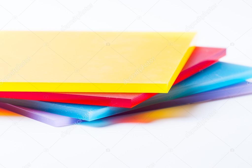 Plexiglass sheets colored — Stock Photo © Jarrycz #81719900