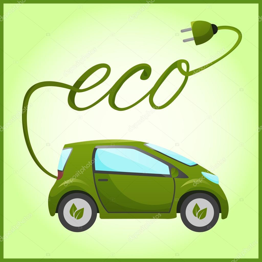 Electric eco car
