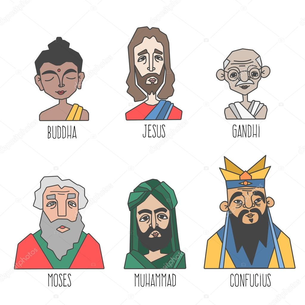 moses jesus and muhammad Jesus and muhammad, islam and christianity: a side-by-side comparison it is not the purpose of this site to promote any particular religion,.