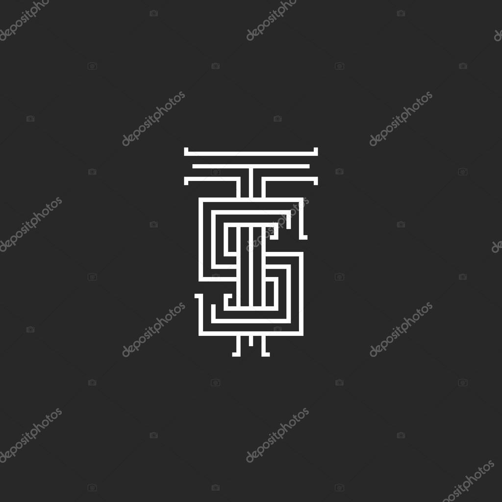 Hipster logo TS