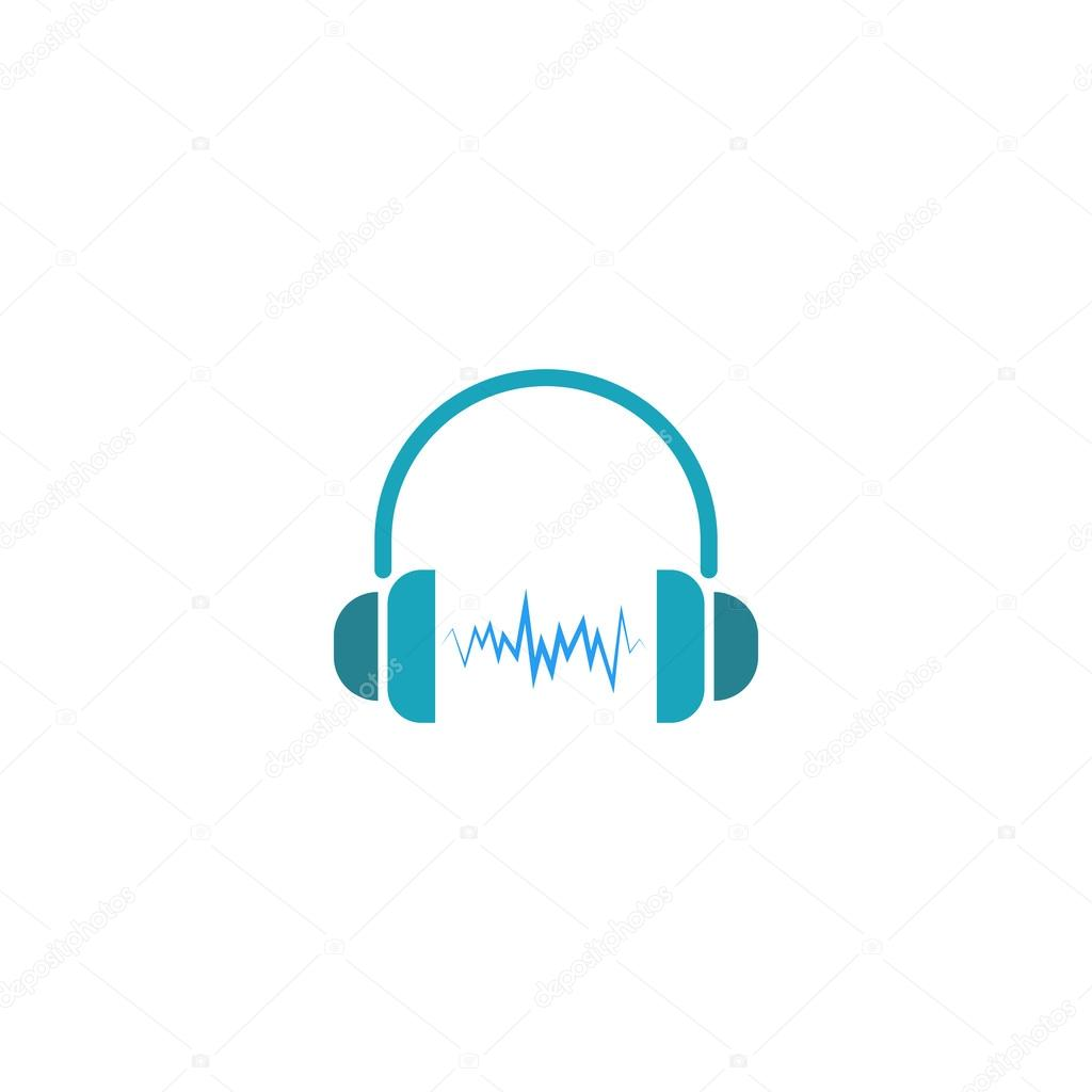 neon dj headphones logo wwwimgkidcom the image kid