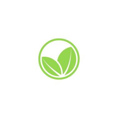 Circle mockup eco logo