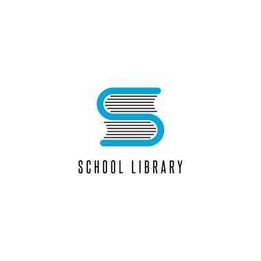 Book logo store icon