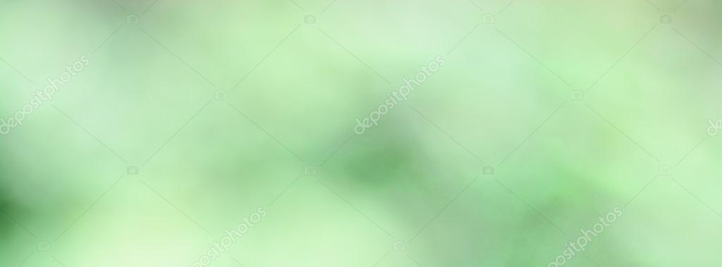 Green leaves color blur background for facebook cover