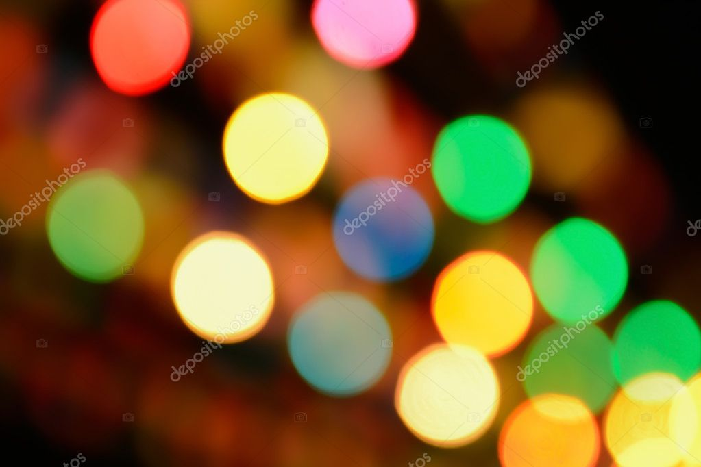 new year reflect bokeh of lighting as background texture stock photo