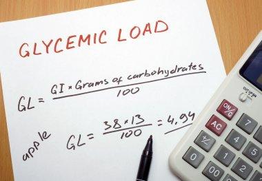 Glycemic load formula