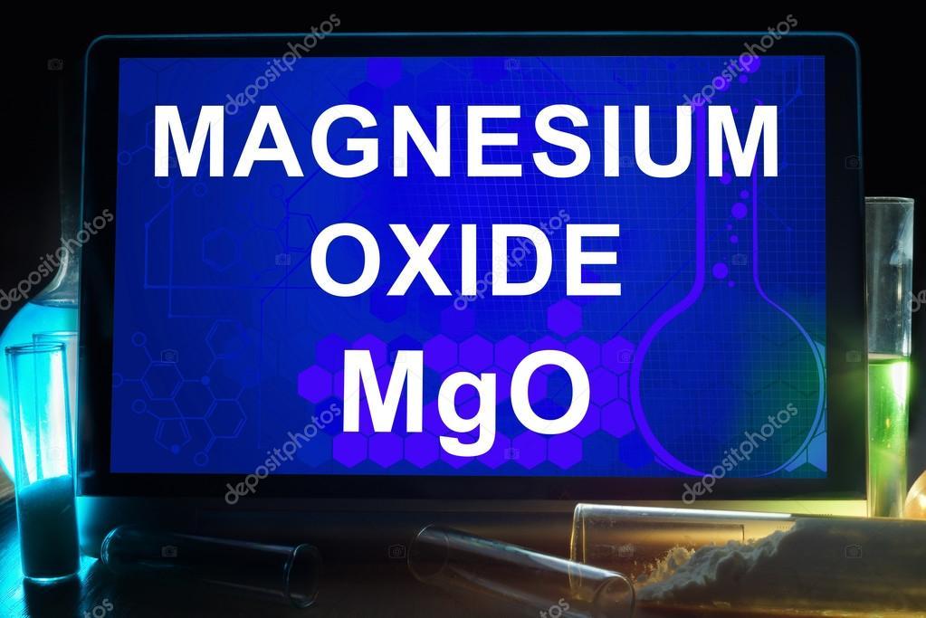 chemical formula magnesium oxide