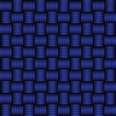 Blue and black geometric pattern