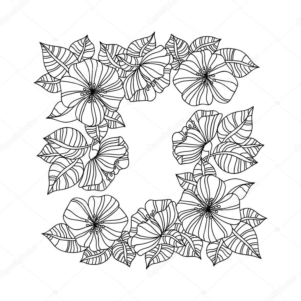 Ayçiçeği Ile Kitap Renklendirme Sayfa Stok Vektör Anawhite 96844268