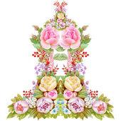 Obrázek květiny kvetoucí růže