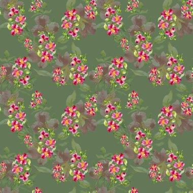 Garden floral pattern