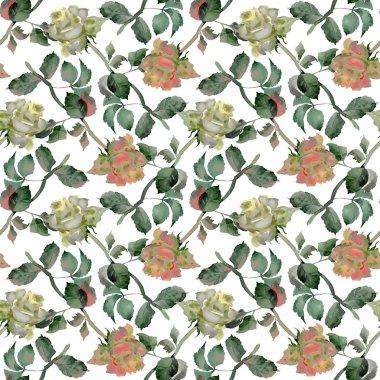 Tea Roses pattern