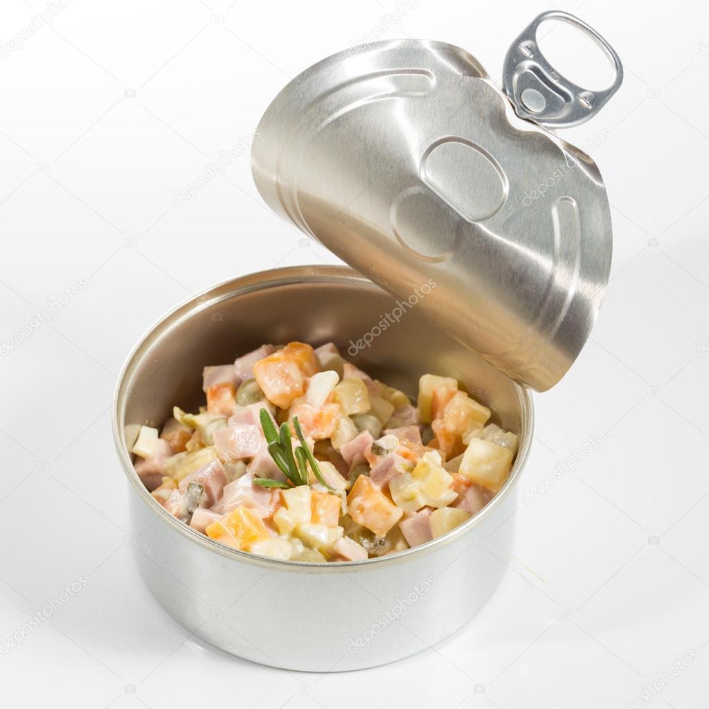 Antipasto cucina creativa insalata russa in un barattolo for Cucina creativa