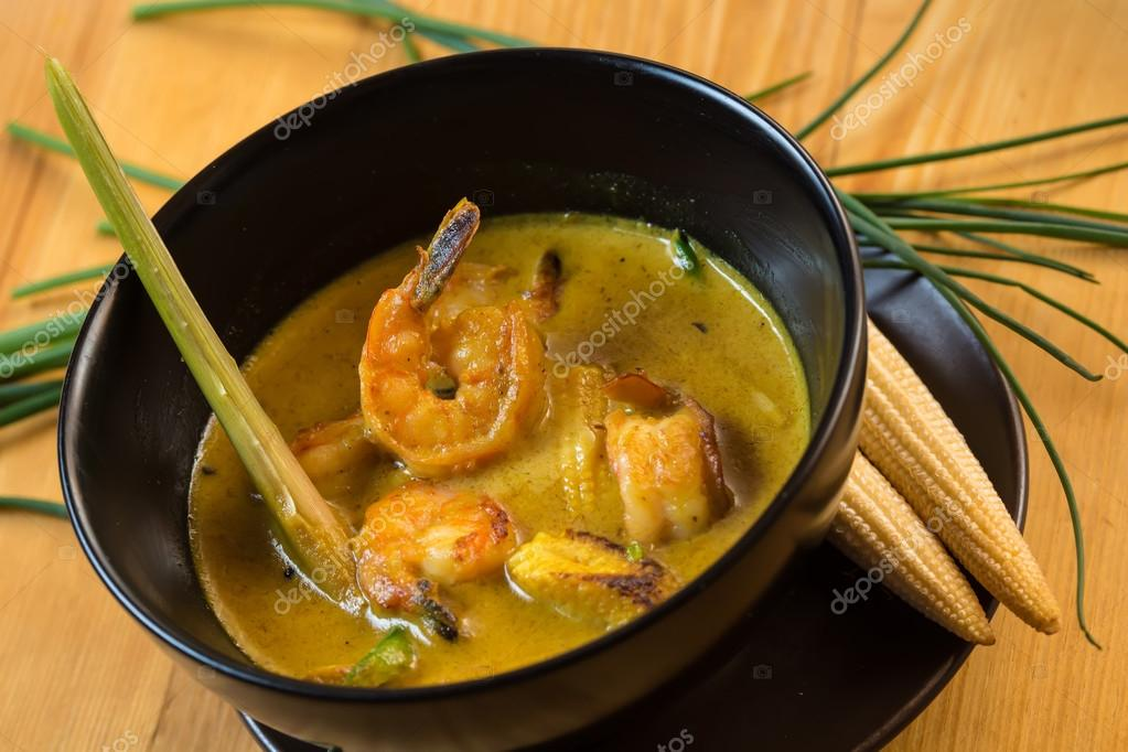Seafood - Traditional Asian fish soup