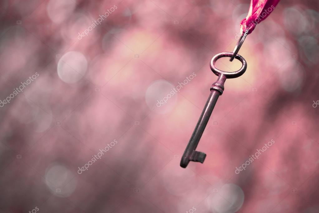 Pink key background