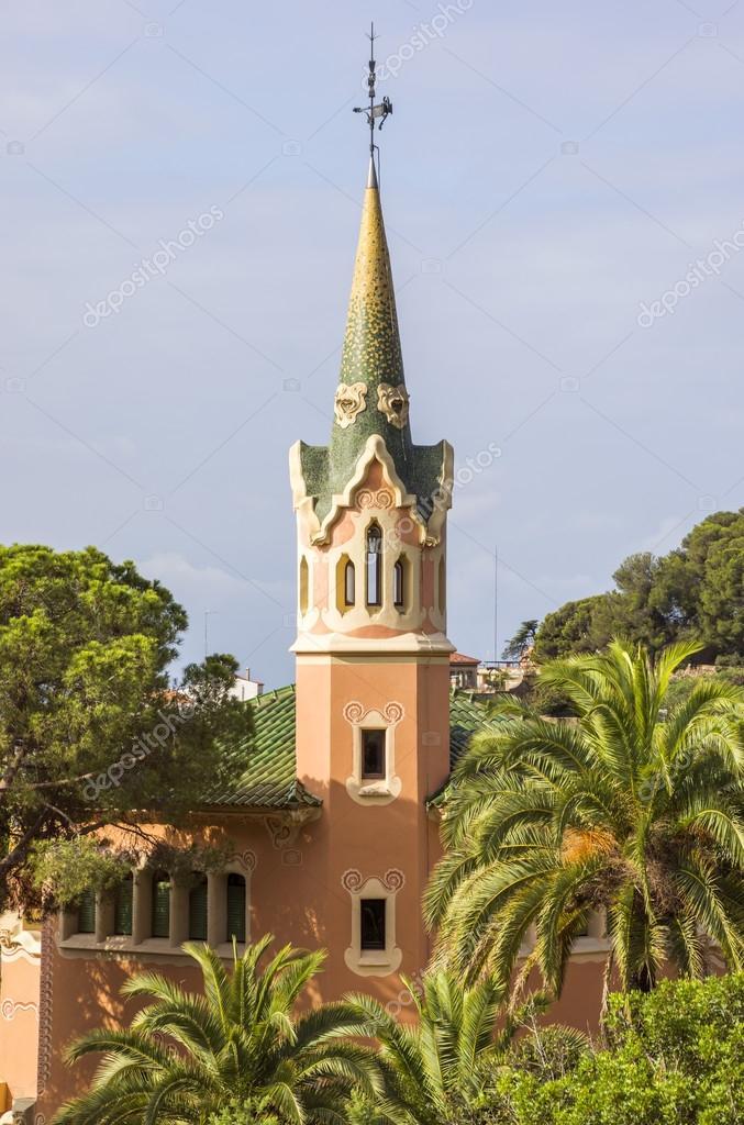 Casa Museo Gaudi.Casa Museo Gaudi En Barcelona Foto Editorial De Stock C Venakr