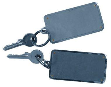 Two hotels room keys