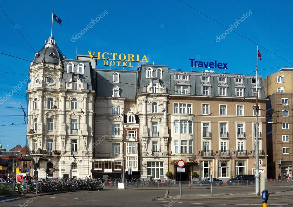 amsterdam - hôtel victoria — photo éditoriale © venakr #71661815