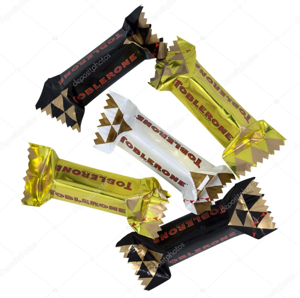 Toblerone Mini Swiss White Milk And Dark Chocolate
