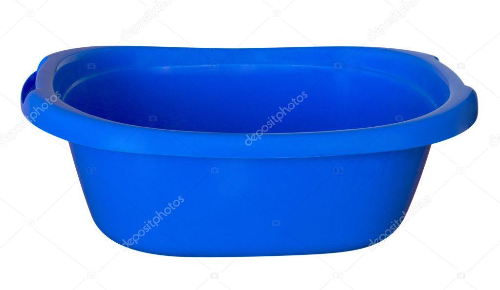 Vasca Da Bagno Plastica : Vasca da bagno blu u foto stock venakr