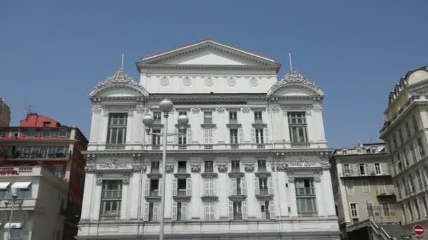 Průčelí opery v městě Nice, Francie