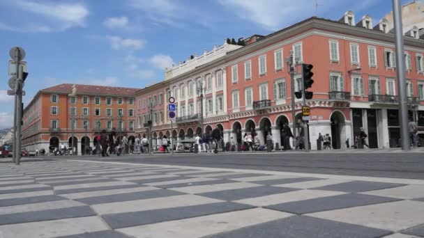 Nice - Plaza Massena and tram