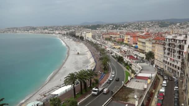 Zobrazit město Nice ve Francii. Luxusní resort francouzské riviéry