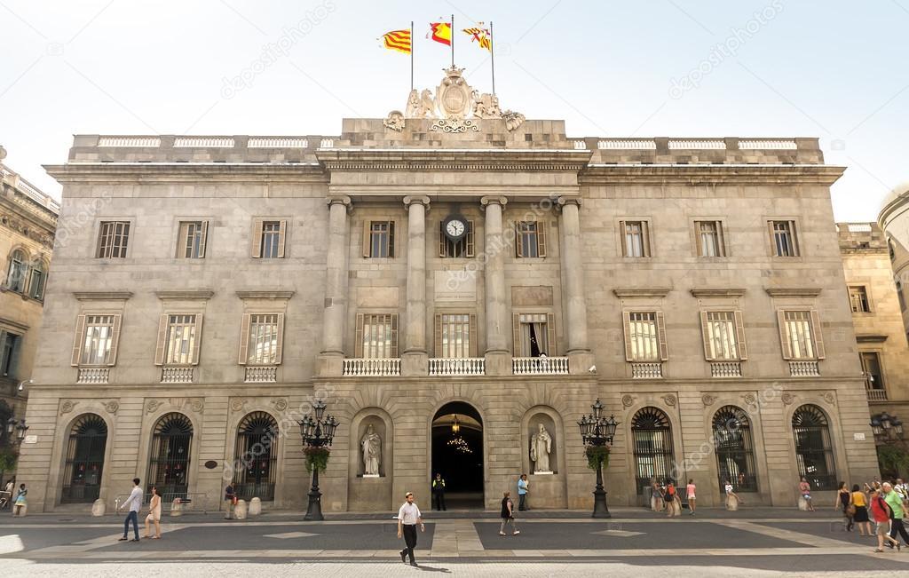 The Palau De La Generalitat Stock Editorial Photo C Venakr 82486466