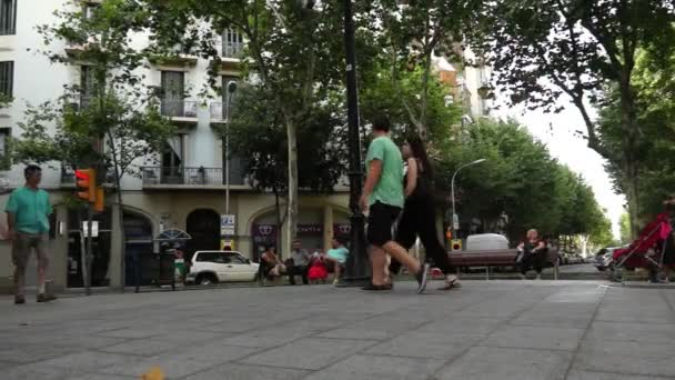 Barcelona-e - ulice La Rambla
