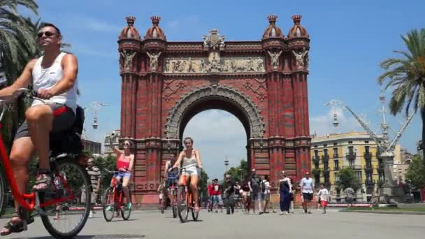 Arc de Triomf Barcelona - TimeLapse