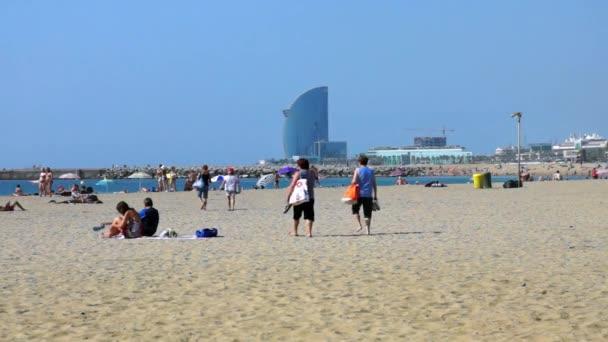Barcelona-e - Pláž Barceloneta