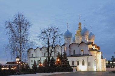 Russia, Tatarstan, Kazan, Cathedral of Annunciation