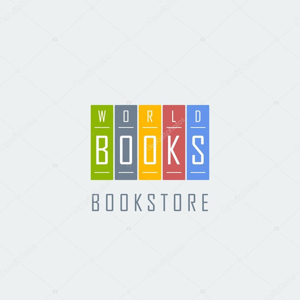книжковий магазин шаблон логотип — Стоковий вектор — Грін © V 76 ... 58616a46586f0