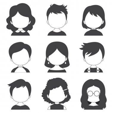 Colorful Collection With Great Variety Avatars icon