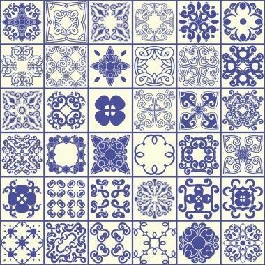 Oriental, seamless pattern tile.
