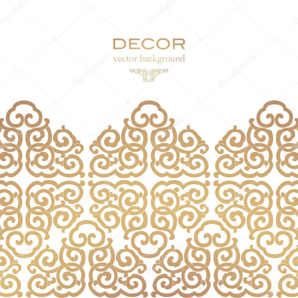 Asian ornament. clipart vector