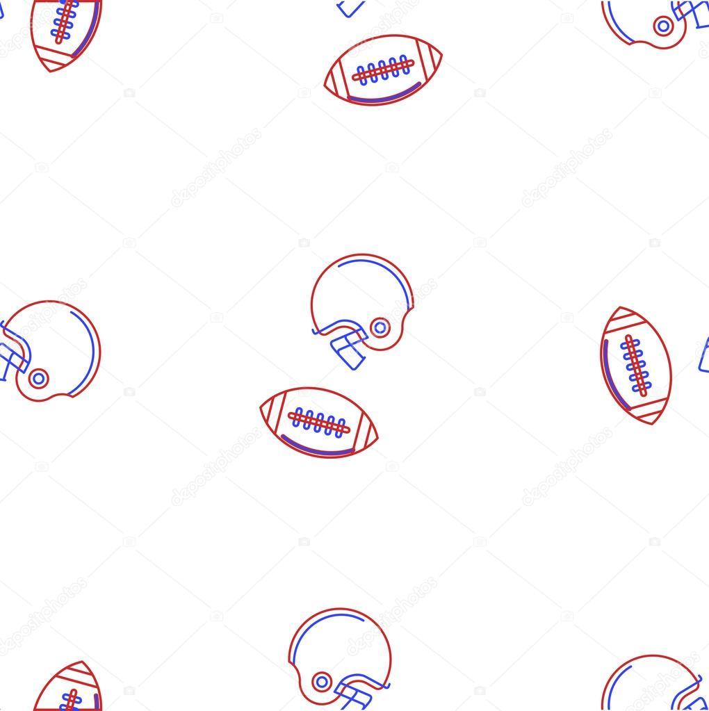 Fondo de vector para fútbol americano — Vector de stock ...