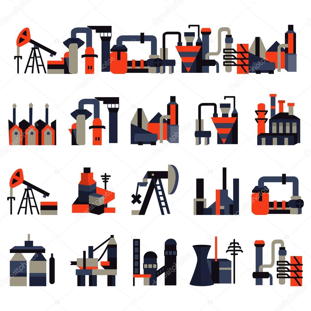 картинки заводов и фабрик
