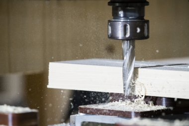 Cnc, milling machine wood