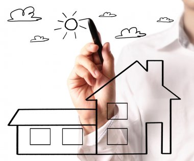 Drawing a growing real estate chart