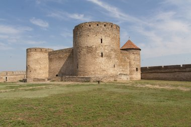 Ancient Akkerman fortress at Belgorod-Dnestrovsky, near Odessa, Ukraine. Citadel old fortress. The South of Ukraine photo