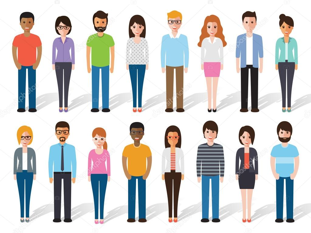 flat design people characters stock vector c sapannpix 102864128 https depositphotos com 102864128 stock illustration flat design people characters html