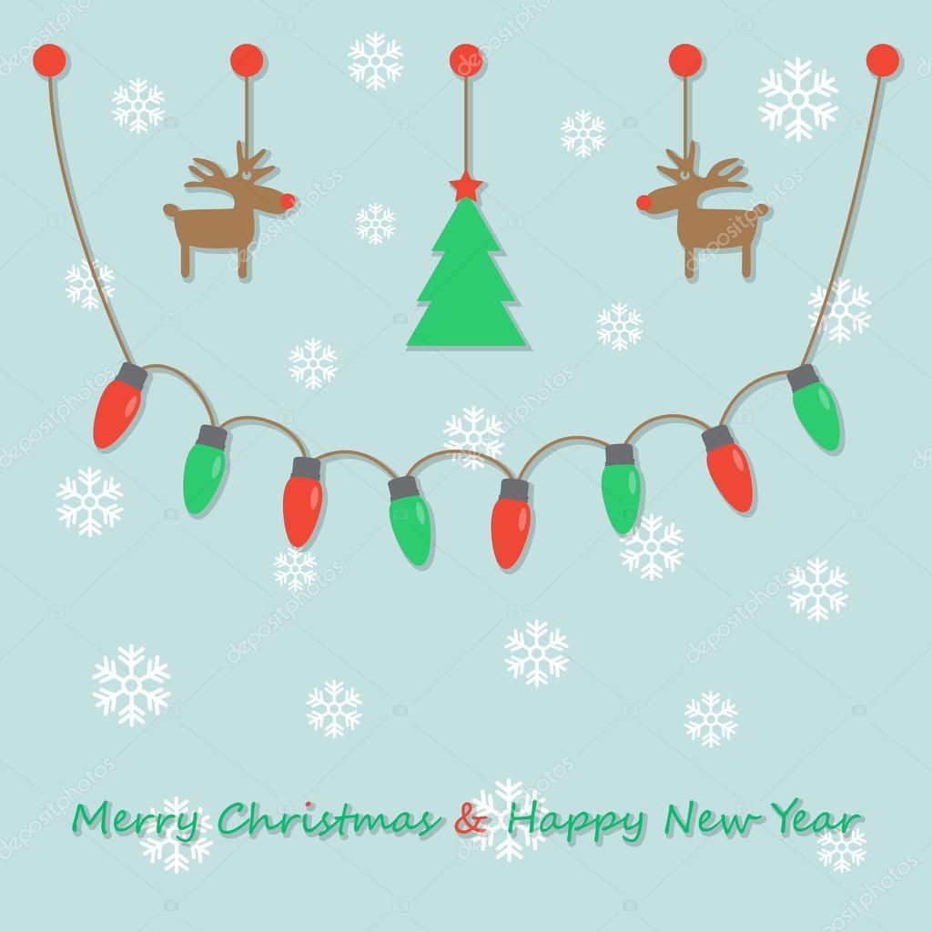 party christmas light bulbs